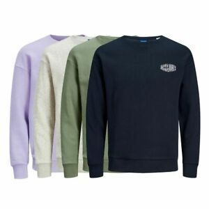 JACK & JONES Pullover Preston Sweat crew neck Regular Fit 4 Farben S bis XXL 202