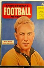 More details for charles buchan's football monthly august 1955 issue 48