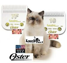 Oster Lucky No.9 Pro Cat Blade 10,7F Set*Fit Golden,Turbo,A6,3000i,Vol t Clippers