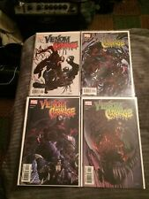 Venom vs Carnage #1-4 Full Set 1st Toxin Venom 2 Crain Covers [Marvel, 2004]