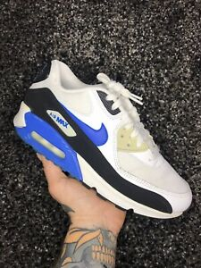 Nike Air Max 90 White/Blue/Black Uk 6