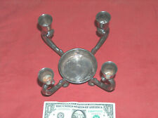 VTG Reed & Barton #331 4 Arm Silver Plate Pineapple Candle Holder Centerpiece