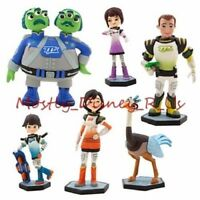 Disney Store Miles from Tomorrowland PVC Figure Playset Figurine 6Pc Cake Topper