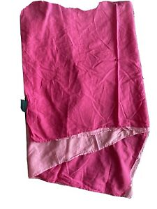 Pink Rectangle Wrap For The Seaside Approx 56 Inches By 40 Inches