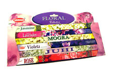 48 Indian Incense Sticks Floral Aroma Therapy Gift Pack 6 Pack