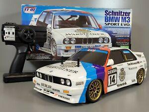 Tamiya 58323 R/C 1/10 Schnitzer BMW M3 Sport Evo TT-01 Chassis + ESC + 2.4GHz
