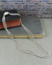 Joseph Esposito Sterling Silver Snap Necklace