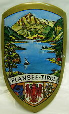 Plansee Tirol used badge stocknagel hiking medallion mount G5110