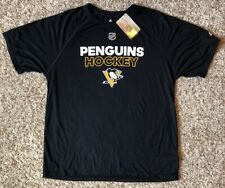 Pittsburgh Penguins NHL adidas Men's Short Sleeve Climalite Tee Large