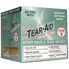 Tear-Aid Type B Vinyl Roll Box Repair Seat, Floor, Annex, Ball, Inflatable, PVC