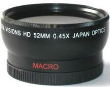52mm 0.45x Digital Wide Angle Lens for Canon EF 50mm f/1.8 II Lens