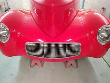 1941,41 Willys coupe front Grill , gasser , hot rat rod, americar