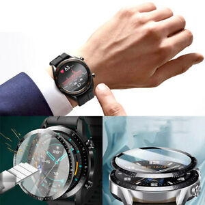 For Huawei Watch GT2 46mm SmartWatch Curved Film Full Cover Screen Protector AU
