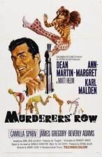 MURDERERS ROW Movie POSTER 11x17 B Dean Martin Ann-Margret Karl Malden Beverly