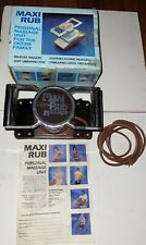 Vintage Original Maxi Rub 2 Speed Professional Personal Electric Body Massager