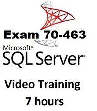 Microsoft SQL Server 2012 Certification-Exam 70-463 Video Training - 7 H