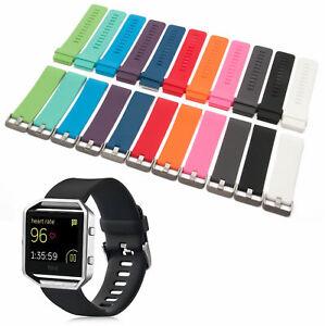 Armband Ersatz Fitbit Blaze Watch Aktivitäts Tracker Smartwatch Sport Silikon