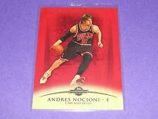 2008-09 Topps ANDRES NOCIONI #76 Redwood Variant/15 Chicago BULLS Real Madrid