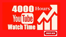 SELLING YOUTUBE - WATCH HOURS 4000H - FULLSTACK PACKS - MONETIZATION
