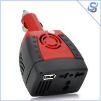 150 Watt Car Power Inverter - 12V DC To 220V AC + 5V USB Port