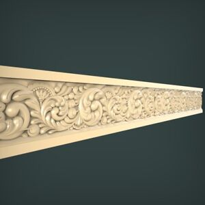 (1032) STL Model Moulding for CNC Router 3D Printer Artcam Aspire Bas Relief
