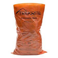 Trekrite Hi-Vis Plastic Rucksack Liner - Orange