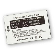 Battery for Creative MUVOSQ4GB Nomad Jukebox Zen Xtra Juke Box +Microfiber
