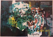 Jean-Paul Riopelle Couverture Derrière le Miroir 1968 Lithographie originale