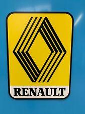 ENSEIGNE RENAULT ( logo époque année 70 et 80 )