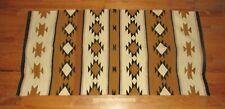 """Vintage Native American Indian Navajo Chinle Crystal Blanket Rug 56""""x29"""""""