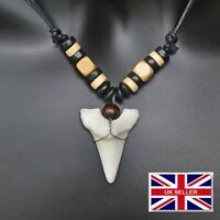 REPLICA SHARK TOOTH NECKLACE PENDANT APPROX 3cm fake sharks teeth #254