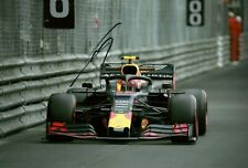 Pierre Gasley 2019 Monaco Grand Prix signed photo F1 Aston Martin Red Bull RB 15