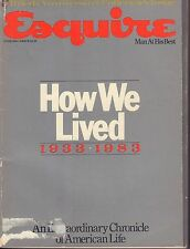 Esquire June 1983  How We Lived, Major Events 1930-1980 w/ML 082517DBE