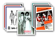 SPARKS - 10 promotional posters  collectable postcard set # 4