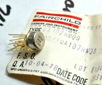 1pcs - FAIRCHILD UA107HMQB Gold-Pin Transistor - 'Genuine' NOS