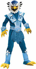 Skylanders Jet Vac Child Costume Blue Jumpsuit With Attached Chest Piece Rubies
