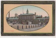 Town Hall Glossop Postcard, B652