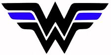 Thin blue line Wonder Woman Decal For Rtic Car Truck Sticker Vinyl Police