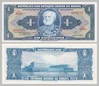 Brasilien / Brazil 1 Cruzeiro 1954-1958 p150b unz.