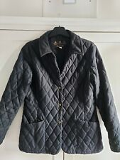 BLACK LADIES Barbour Quilted Jacket Size 12