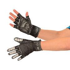 Captain America Civil War - Winter Soldier Child Gloves Marvel Comics New 32876