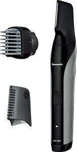 Panasonic ER-GK81-S Body Trimmer Bath Shaving Possible AC100V-240V Silver