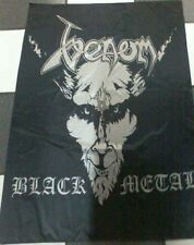 VENOM BLACK METAL FLAG BANNER CLOTH POSTER WALL TAPESTRY 3x5 ft CD Death Metal