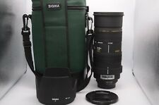 【NEAR MINT】Sigma AF 50-500mm F4-6.3 D EX  APO HSM For Nikon From Japan