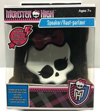 Monster High Portable speaker IPod IPad MP3 MP4 Stereo Girls Mini Speakers