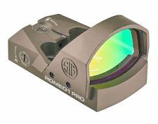 Sig Sauer SOR1P103 Romeo1Pro, 6 Moa 1.0 Moa Adjust, Steel Shroud - FDE