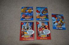 RESCUE HEROES TRADING CARDS - QTY 5