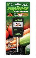 Rapitest 1880 Soil Moisture pH Fertility Sunlight Tester Meter Analyzer