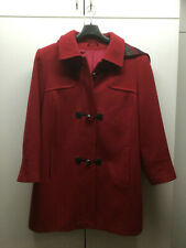 Günstige Damen Bordeaux Rot REVIEW Parka im Dufflecoat Look
