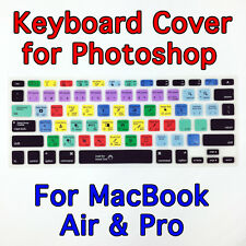 "Photoshop Keyboard Case Cover Protector for Apple Mac MacBook Air Pro 13"" 15"""